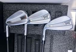 PXG 0211 irons 5-PW RH Stiff MMT 80 shafts Mint Condition