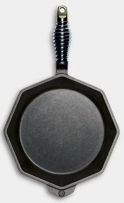 """Finex Cast Iron 10"""" Eight Side Skillet Cooking Pan NEW"""