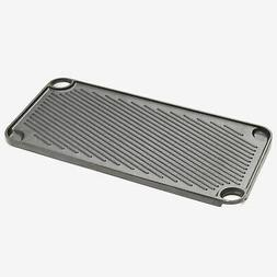BrylaneHome Cast Iron Reversible Griddle