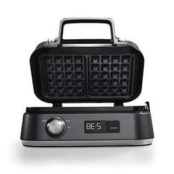 Calphalon Intellicrisp Waffle Maker, Dark Stainless Steel FR