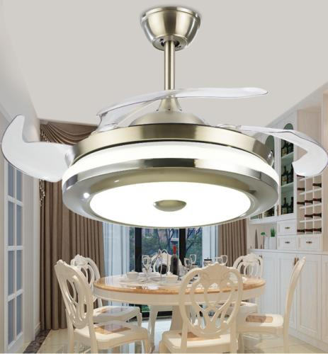 """Modern 36"""" Invisible Fans with LED Light Fan"""