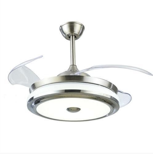 Modern Invisible Fans with Light Chandelier+remote