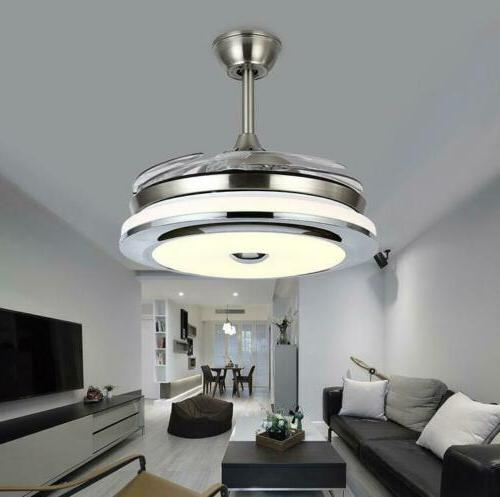 modern 36 invisible ceiling fans with dimmable
