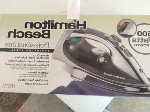professional stainless steel 1500w iron