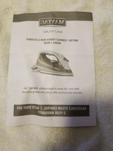 Maytag Speed Iron Vertical Steamer with