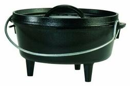 Lodge Logic 2-Quart Cast Iron Camp Dutch Oven