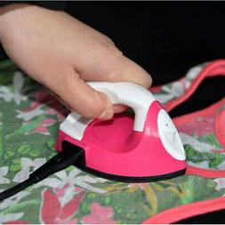 Mini Electric Iron Small Portable Travel Crafting Crafts Clo