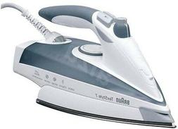 Braun TS785 220 Volt Steam Iron Auto Shut-Off 2400W With Ext